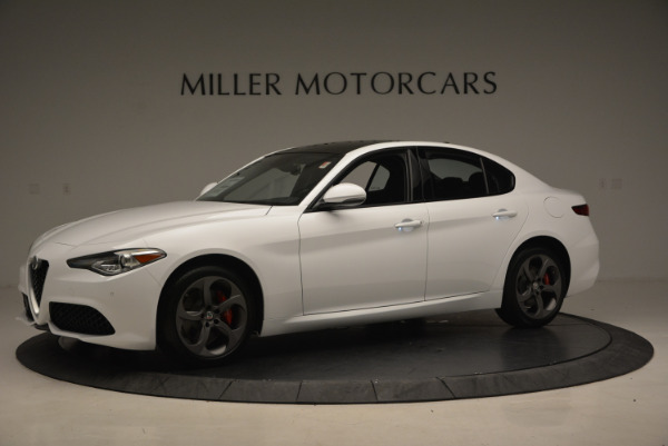 New 2017 Alfa Romeo Giulia Ti Sport Q4 for sale Sold at Maserati of Westport in Westport CT 06880 2