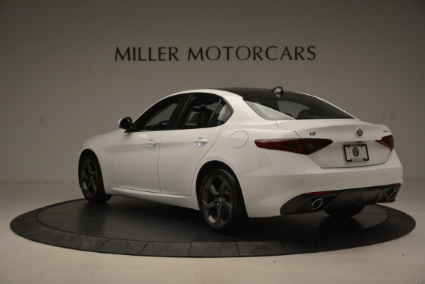 New 2017 Alfa Romeo Giulia Ti Sport Q4 for sale Sold at Maserati of Westport in Westport CT 06880 5