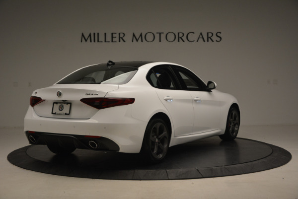 New 2017 Alfa Romeo Giulia Ti Sport Q4 for sale Sold at Maserati of Westport in Westport CT 06880 7
