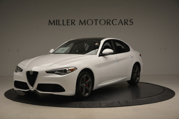 New 2017 Alfa Romeo Giulia Ti Sport Q4 for sale Sold at Maserati of Westport in Westport CT 06880 1