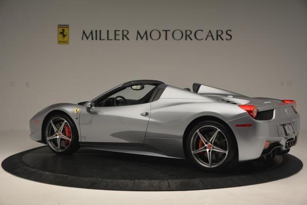 Used 2013 Ferrari 458 Spider for sale Sold at Maserati of Westport in Westport CT 06880 4