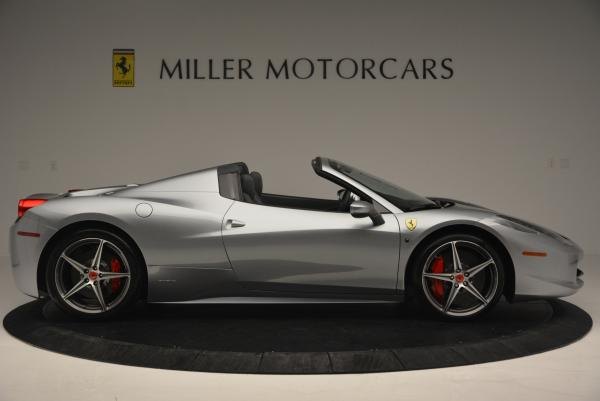 Used 2013 Ferrari 458 Spider for sale Sold at Maserati of Westport in Westport CT 06880 9