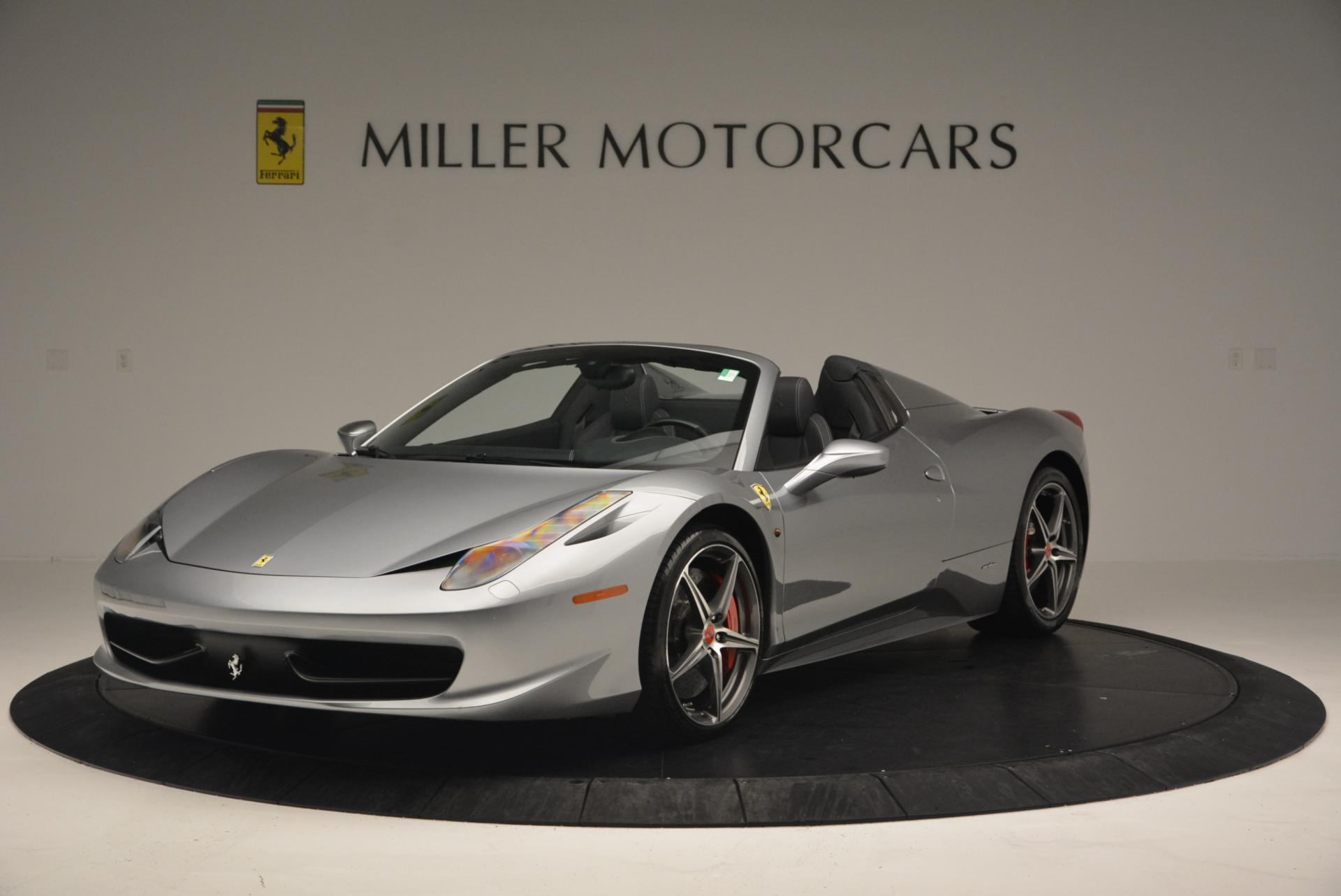 Used 2013 Ferrari 458 Spider for sale Sold at Maserati of Westport in Westport CT 06880 1
