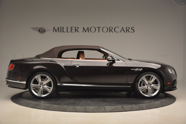 Used 2017 Bentley Continental GTC V8 S for sale Sold at Maserati of Westport in Westport CT 06880 21