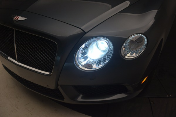 Used 2013 Bentley Continental GT V8 Le Mans Edition, 1 of 48 for sale Sold at Maserati of Westport in Westport CT 06880 28