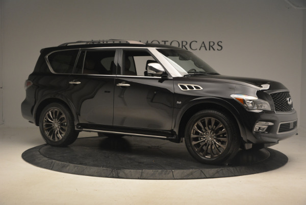 Used 2015 INFINITI QX80 Limited 4WD for sale Sold at Maserati of Westport in Westport CT 06880 10