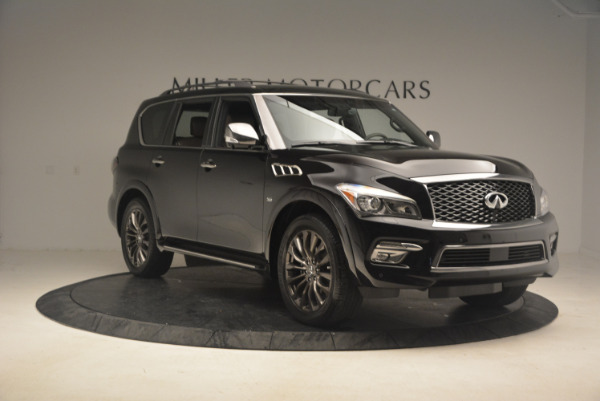 Used 2015 INFINITI QX80 Limited 4WD for sale Sold at Maserati of Westport in Westport CT 06880 11