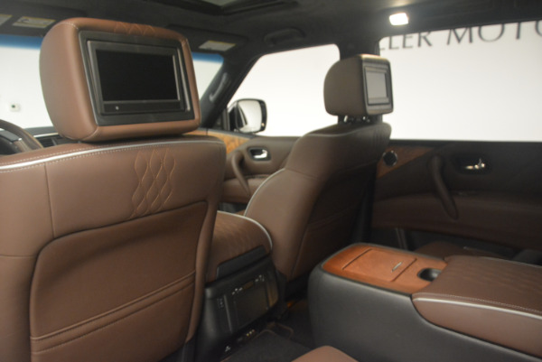 Used 2015 INFINITI QX80 Limited 4WD for sale Sold at Maserati of Westport in Westport CT 06880 19