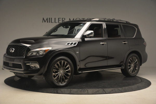 Used 2015 INFINITI QX80 Limited 4WD for sale Sold at Maserati of Westport in Westport CT 06880 2