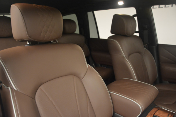 Used 2015 INFINITI QX80 Limited 4WD for sale Sold at Maserati of Westport in Westport CT 06880 24