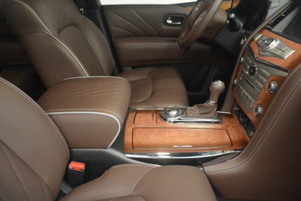 Used 2015 INFINITI QX80 Limited 4WD for sale Sold at Maserati of Westport in Westport CT 06880 25