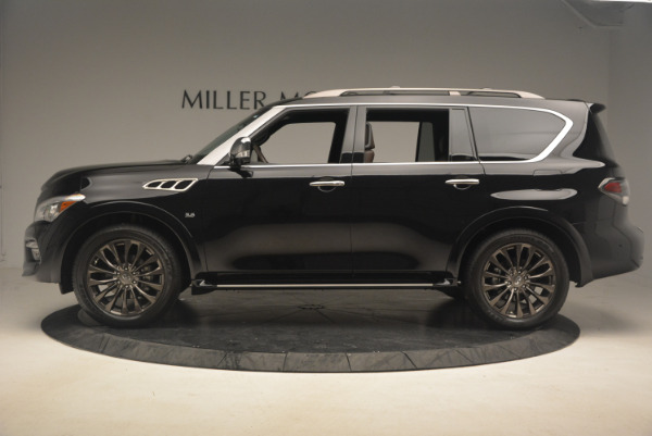 Used 2015 INFINITI QX80 Limited 4WD for sale Sold at Maserati of Westport in Westport CT 06880 3