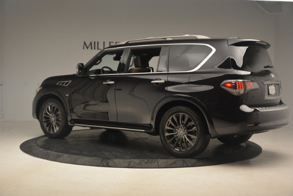 Used 2015 INFINITI QX80 Limited 4WD for sale Sold at Maserati of Westport in Westport CT 06880 4