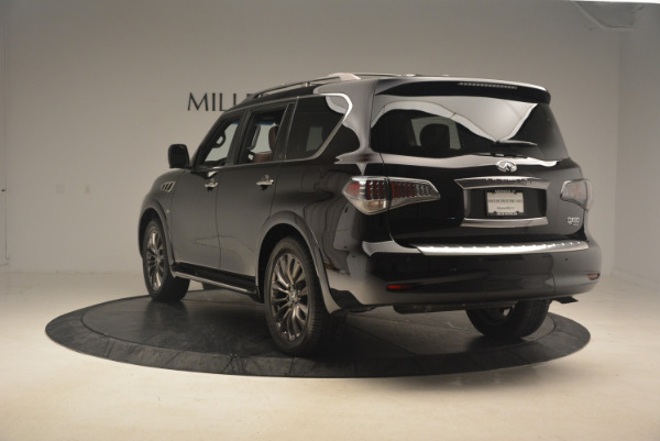 Used 2015 INFINITI QX80 Limited 4WD for sale Sold at Maserati of Westport in Westport CT 06880 5
