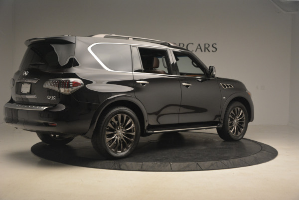 Used 2015 INFINITI QX80 Limited 4WD for sale Sold at Maserati of Westport in Westport CT 06880 8