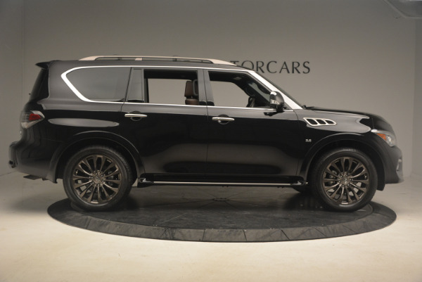 Used 2015 INFINITI QX80 Limited 4WD for sale Sold at Maserati of Westport in Westport CT 06880 9