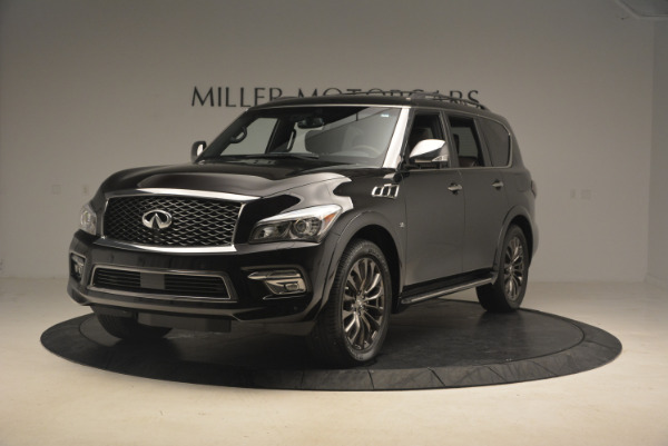 Used 2015 INFINITI QX80 Limited 4WD for sale Sold at Maserati of Westport in Westport CT 06880 1