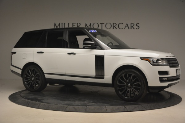 Used 2015 Land Rover Range Rover Supercharged for sale Sold at Maserati of Westport in Westport CT 06880 10