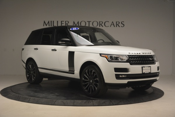 Used 2015 Land Rover Range Rover Supercharged for sale Sold at Maserati of Westport in Westport CT 06880 11