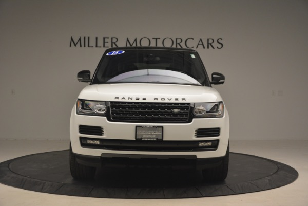 Used 2015 Land Rover Range Rover Supercharged for sale Sold at Maserati of Westport in Westport CT 06880 12