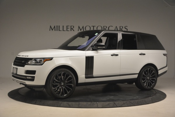 Used 2015 Land Rover Range Rover Supercharged for sale Sold at Maserati of Westport in Westport CT 06880 2