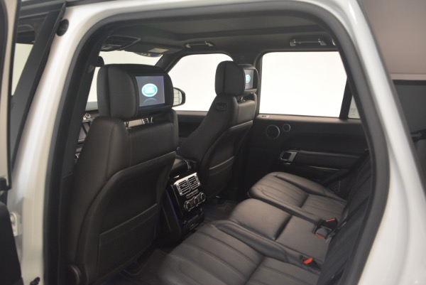 Used 2015 Land Rover Range Rover Supercharged for sale Sold at Maserati of Westport in Westport CT 06880 22