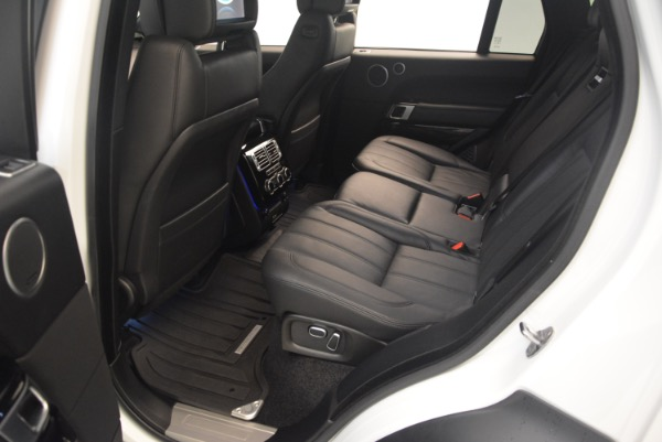 Used 2015 Land Rover Range Rover Supercharged for sale Sold at Maserati of Westport in Westport CT 06880 23
