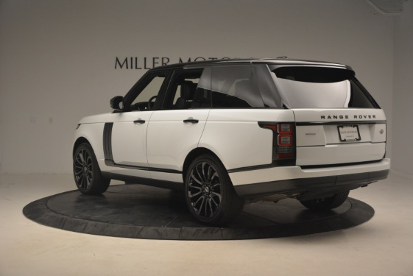 Used 2015 Land Rover Range Rover Supercharged for sale Sold at Maserati of Westport in Westport CT 06880 5