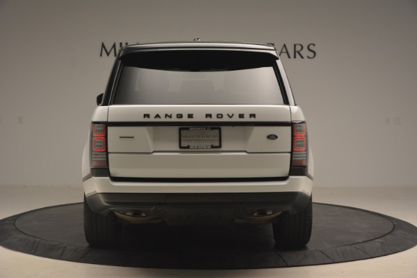 Used 2015 Land Rover Range Rover Supercharged for sale Sold at Maserati of Westport in Westport CT 06880 6