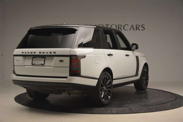 Used 2015 Land Rover Range Rover Supercharged for sale Sold at Maserati of Westport in Westport CT 06880 7