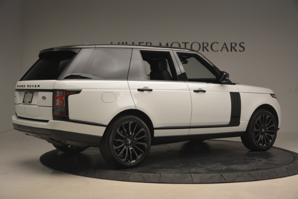 Used 2015 Land Rover Range Rover Supercharged for sale Sold at Maserati of Westport in Westport CT 06880 8