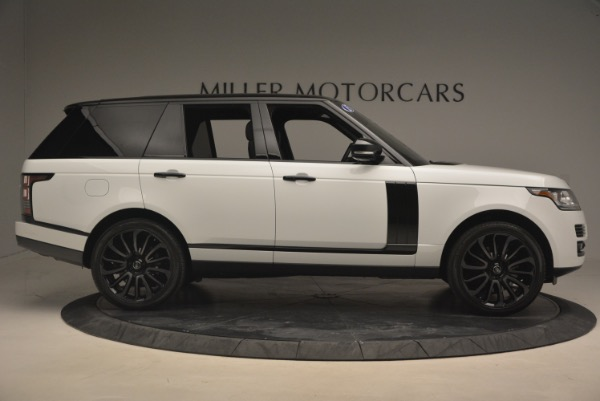 Used 2015 Land Rover Range Rover Supercharged for sale Sold at Maserati of Westport in Westport CT 06880 9
