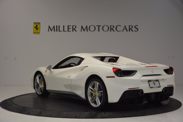 Used 2017 Ferrari 488 Spider for sale Sold at Maserati of Westport in Westport CT 06880 17