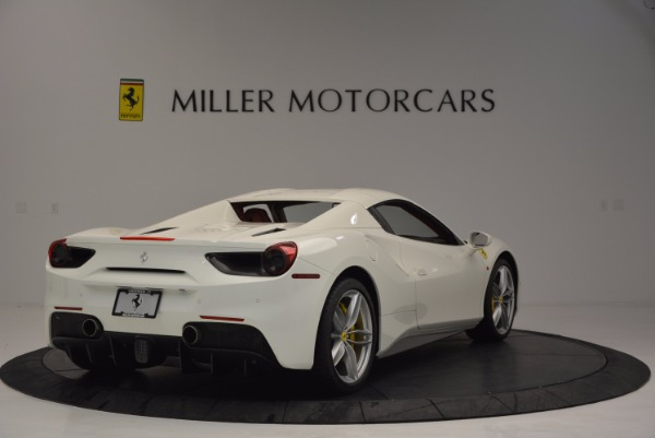Used 2017 Ferrari 488 Spider for sale Sold at Maserati of Westport in Westport CT 06880 19