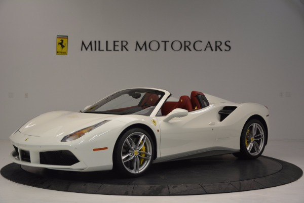 Used 2017 Ferrari 488 Spider for sale Sold at Maserati of Westport in Westport CT 06880 2