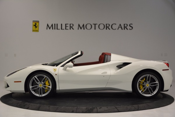Used 2017 Ferrari 488 Spider for sale Sold at Maserati of Westport in Westport CT 06880 3