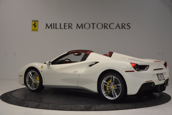 Used 2017 Ferrari 488 Spider for sale Sold at Maserati of Westport in Westport CT 06880 4