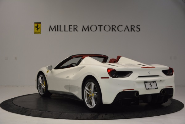 Used 2017 Ferrari 488 Spider for sale Sold at Maserati of Westport in Westport CT 06880 5