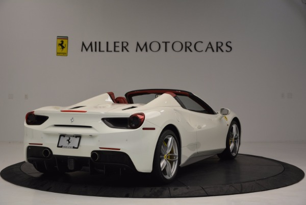 Used 2017 Ferrari 488 Spider for sale Sold at Maserati of Westport in Westport CT 06880 7