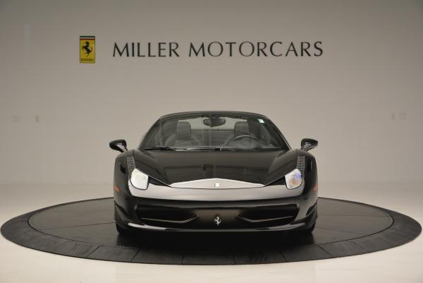 Used 2012 Ferrari 458 Spider for sale Sold at Maserati of Westport in Westport CT 06880 12