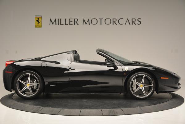 Used 2012 Ferrari 458 Spider for sale Sold at Maserati of Westport in Westport CT 06880 9