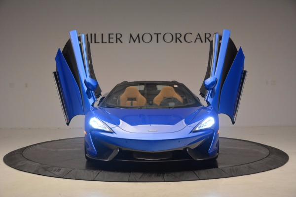 Used 2018 McLaren 570S Spider for sale Call for price at Maserati of Westport in Westport CT 06880 13