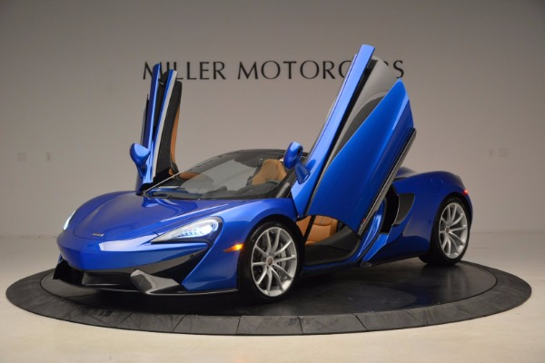 Used 2018 McLaren 570S Spider for sale Call for price at Maserati of Westport in Westport CT 06880 14