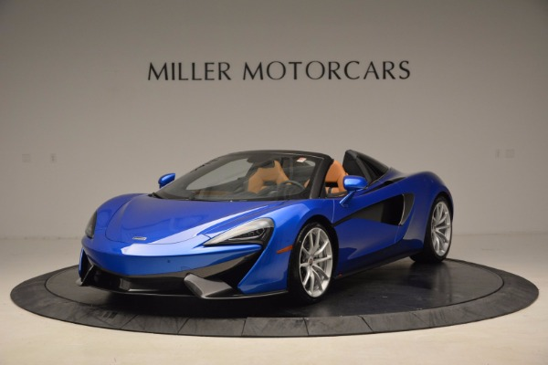 Used 2018 McLaren 570S Spider for sale Call for price at Maserati of Westport in Westport CT 06880 2