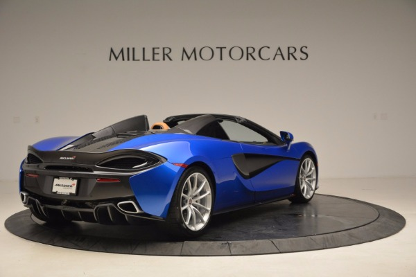 Used 2018 McLaren 570S Spider for sale Call for price at Maserati of Westport in Westport CT 06880 7