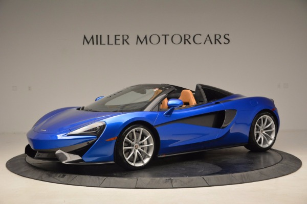 Used 2018 McLaren 570S Spider for sale Call for price at Maserati of Westport in Westport CT 06880 1