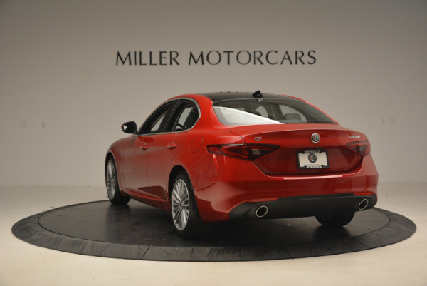 New 2017 Alfa Romeo Giulia Ti Q4 for sale Sold at Maserati of Westport in Westport CT 06880 5