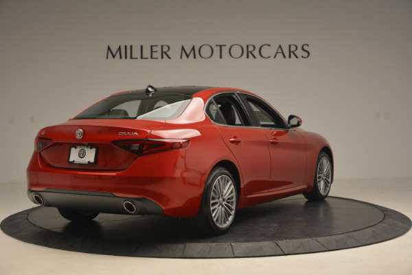 New 2017 Alfa Romeo Giulia Ti Q4 for sale Sold at Maserati of Westport in Westport CT 06880 7