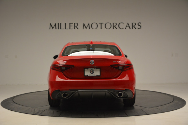 New 2017 Alfa Romeo Giulia Sport Q4 for sale Sold at Maserati of Westport in Westport CT 06880 6