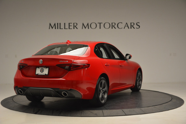 New 2017 Alfa Romeo Giulia Sport Q4 for sale Sold at Maserati of Westport in Westport CT 06880 7
